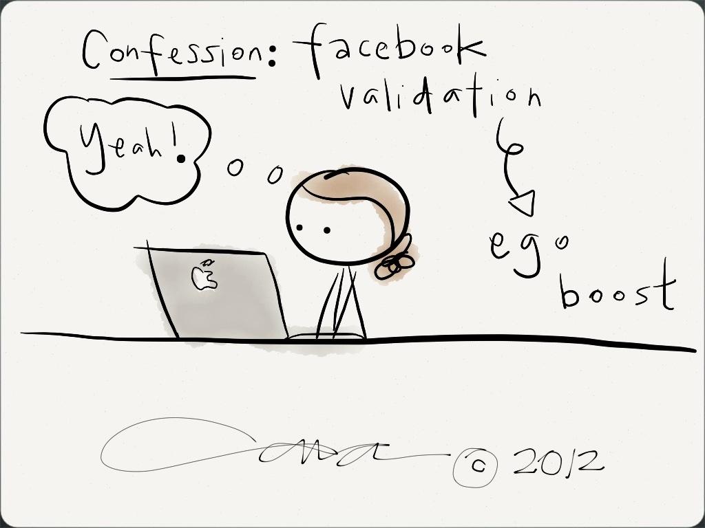 Is Facebook Validation, Really Validation?